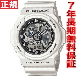 カシオGショックCASIOG-SHOCK腕時計メンズアナデジホワイトGA-300-7AJF