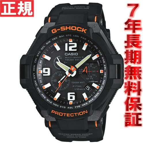 G-shock wave solar G shock GSHOCK sky cockpit Casio CASIO SKY COCKPIT watches mens GW-4000-1AJF