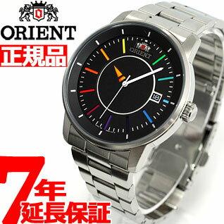 【店内ポイント最大35倍!】オリエント ORIENT スタイリッシュ&スマート ディスク DISK レインボー 腕時計 メンズ 自動巻き WV0761ER