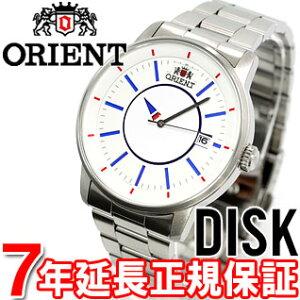 オリエント ORIENT スタイリッシュ&スマート ディスク DISK WV0771ER トリコロール 腕時計 メ...