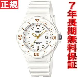 カシオCASIOスタンダード限定モデル腕時計レディースホワイトアナログLRW-200H-7E2JF