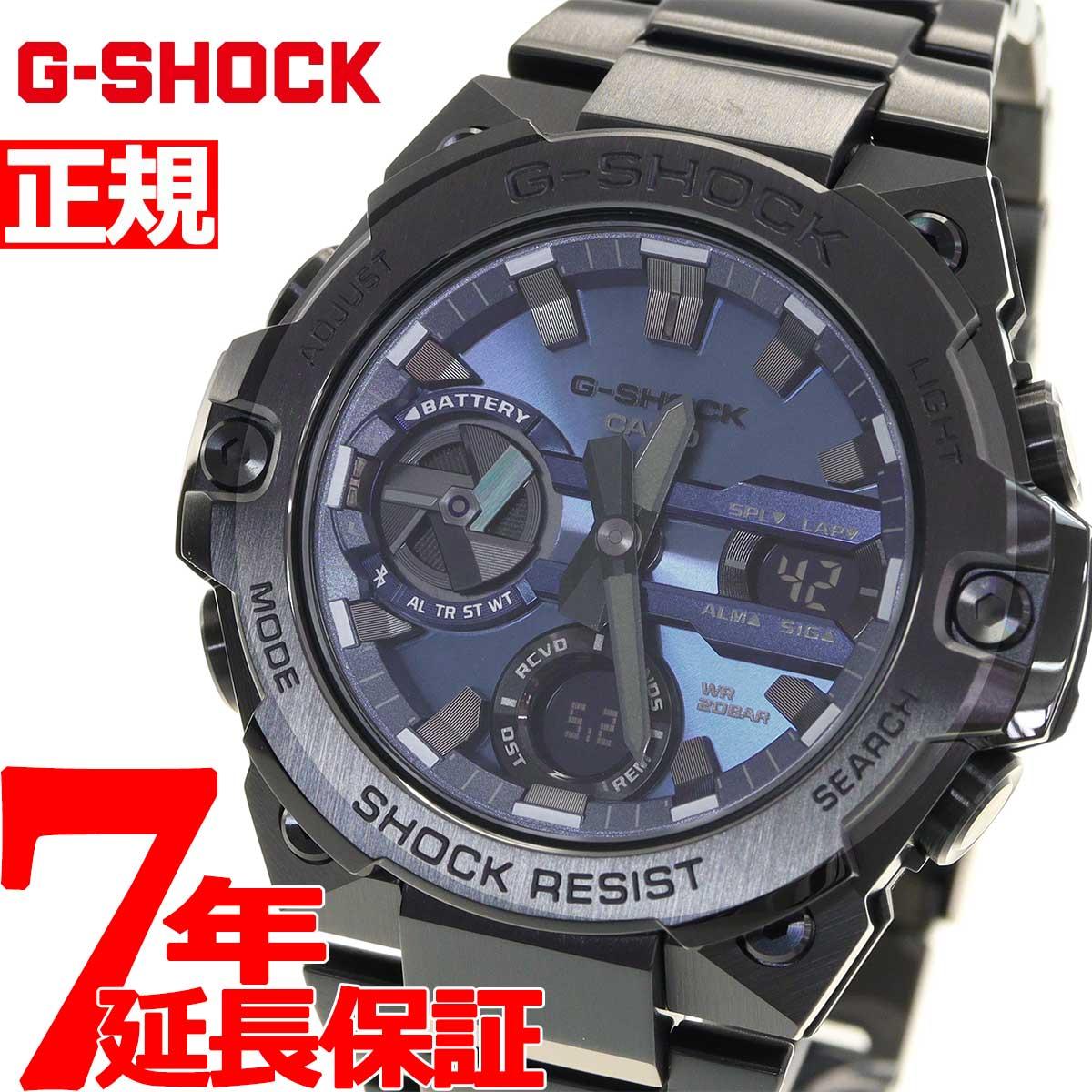 腕時計, メンズ腕時計 34G-SHOCK G G-STEEL G GST-B400BD-1A2JF bluetooth 2021