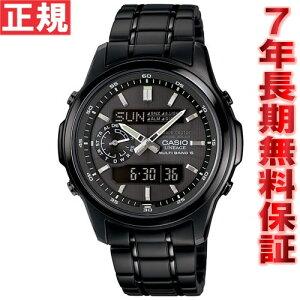カシオリニエージCASIOLINEAGE電波ソーラー電波時計腕時計メンズアナデジタフソーラーLCW-M300DB-1AJF