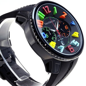 テンデンスTendence腕時計ガリバーラウンドレインボーGULLIVERRoundRainbowクロノグラフTY460610