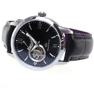オリエントスターORIENTSTAR腕時計メンズ自動巻きメカニカルセミスケルトンレザーモデルWZ0221DA
