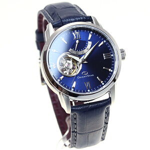 オリエントスターORIENTSTAR腕時計メンズ自動巻きメカニカルセミスケルトンレザーモデルWZ0231DA