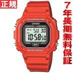 ポイント最大39倍!21日1時59分まで! カシオ CASIO スタンダード 限定モデル 腕時計 メンズ レッド デジタル F-108WHC-4AJF