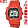 カシオ CASIO スタンダード 限定モデル 腕時計 メンズ レッド デジタル F-108WHC-4AJF