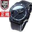 ルミノックス LUMINOX 腕時計 メンズ ネイビーシールズ NAVY SEALS COLORMARK 3050 SERIES ブラックアウト 3051Blackout