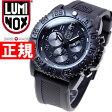 ルミノックス LUMINOX 腕時計 メンズ ネイビーシールズ NAVY SEALS COLORMARK CHRONOGRAPH 3080 SERIES ブラックアウト クロノグラフ 3081Blackout