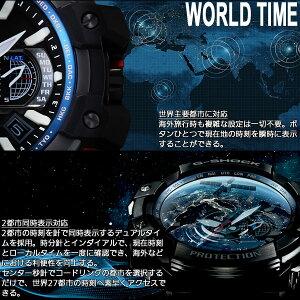 GPW-1000-1AJFカシオGショックスカイコックピットCASIOG-SHOCKSKYCOCKPITGPSハイブリッド電波ソーラー電波時計腕時計メンズアナログGPW-1000-1AJF
