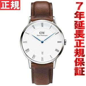 ダニエルウェリントンDANIELWELLINGTON腕時計メンズ/レディースダッパーDAPPERセイントモーズ/シルバー38mm1120DW(DW00100087)