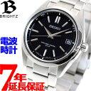 セイコー ブライツ SEIKO BRIGHTZ 電波 ソーラー 電波時計 腕時計 メンズ SAGZ0...