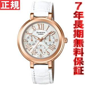 カシオシーンCASIOSHEEN限定モデル腕時計レディースアナログSHE-3034GLJ-7AJF