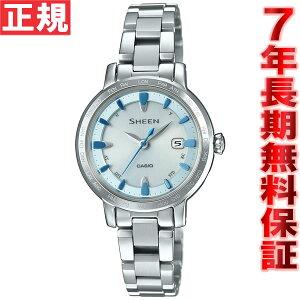 カシオシーンCASIOSHEEN電波ソーラー電波時計腕時計レディースボヤージュアナログタフソーラーSHW-1900D-7AJF