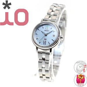 オリエントイオORIENTiOソーラー腕時計レディースナチュラル&プレインWI0071WG