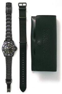 ヴァーグウォッチVAGUEWATCHCo.腕時計BLKSUB(ブラックサブ)ミリタリーBS-L-001-SB