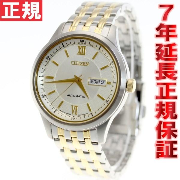 腕時計, メンズ腕時計 34 CITIZEN NY4054-53P