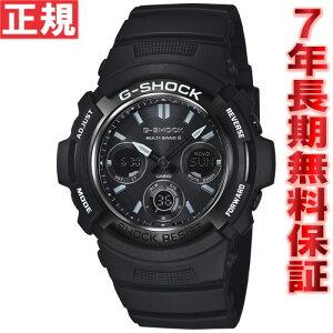 G-SHOCK Gショック 電波 ソーラー AWG-M100BW-1AJF 腕時計 メンズ 電波時計 ガリッシュブラック...