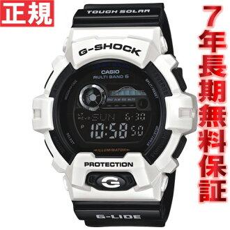 G-shock G-LIDE Casio G shock G ride CASIO wave solar watches mens wave watch tough solar GWX-8900B-7JF