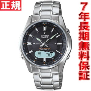カシオリニエージソーラー電波時計メンズアナデジCASIOLINEAGELCW-M100D-1AJF