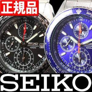 【セイコー】【逆輸入SEIKO】【クロノグラフ】【SMTB】【腕時計】【メンズ】【SND253】【ブラッ...