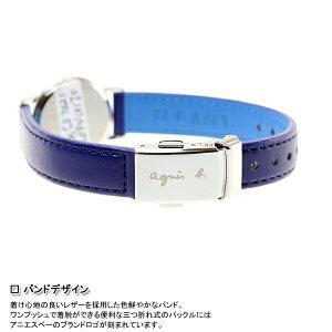 アニエスベーagnesb.限定モデル腕時計レディースマルチェロMarcello手書きFBSD702