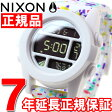 ニクソン NIXON ユニット UNIT 腕時計 メンズ ホワイトマルチスポックル NA1972313-00【2016 新作】