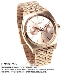 ニクソンNIXONタイムテラーデラックスTIMETELLERDELUXE腕時計メンズ/レディースオールローズゴールドNA922897-00