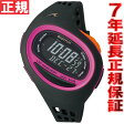 SOMA ソーマ ランニングウォッチ 腕時計 ランワン RunONE 100SL ミディアム ブラック/ピンク NS09008【2016 新作】