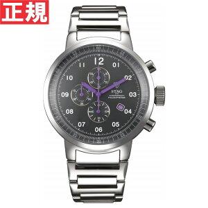 STAGスタッグ腕時計メンズCHRONOGRAPHPHILOSOPHER365クロノグラフ日本製クォーツSTG012S3