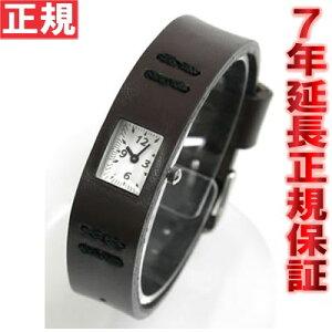 【送料無料】ZUCCA腕時計チューイングガムブラウンズッカAWGK020