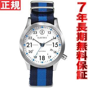エレクトリックELECTRIC腕時計メンズFW01NATOWHITE/ROYALFW1N-WRY