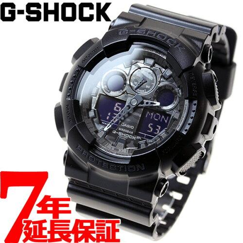 GA-100CF-1AJF カシオ Gショック CASIO G-SHOCK カモフラージュダイアル 腕時計 メンズ ブラック ...