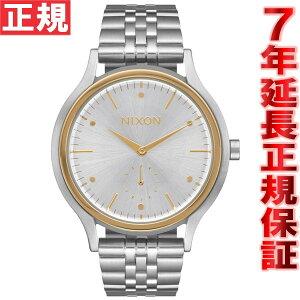 ニクソンNIXONサラSALA腕時計レディースシルバー/ゴールドNA9941921-00