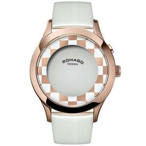 ロマゴデザインROMAGODESIGN腕時計メンズ/レディースFASHIONCODEファッションコードRM052-0314ST-RGWH