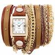 ラメール コレクション LA MER COLLECTIONS 腕時計 DOUBLE CHAIN ダブルチェーン LMDUOSTUD002【あす楽対応】【即納可】