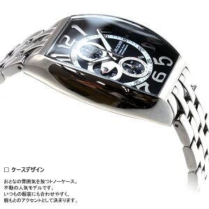 エンジェルクローバーAngelClover時計メンズ腕時計ダブルプレイDoublePlayクロノグラフDP38SBK