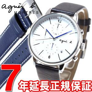 アニエスベーagnesb.腕時計メンズクロノグラフFCRT974
