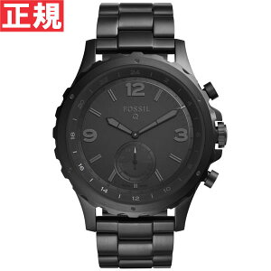フォッシルFOSSILハイブリッドスマートウォッチウェアラブルQNATEQネイト腕時計メンズ/レディースFTW1115【2016新作】【正規品】【送料無料】【サイズ調整無料】