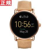 フォッシル FOSSIL スマートウォッチ ウェアラブル Q WANDER Qワンダー 腕時計 メンズ/レディース FTW2102【2016 新作】【正規品】【送料無料】