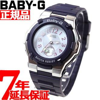 Baby-g Casio baby G radio solar watches ladies watch radio watch Navy Chief tanigawa 潤イ e-mail-ジキャ Lac ter BGA-1100-2BJF