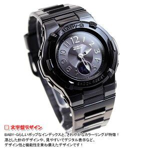 BABY-GカシオベビーG電波ソーラー時計レディース腕時計電波時計ブラックBGA-1110-1BJF