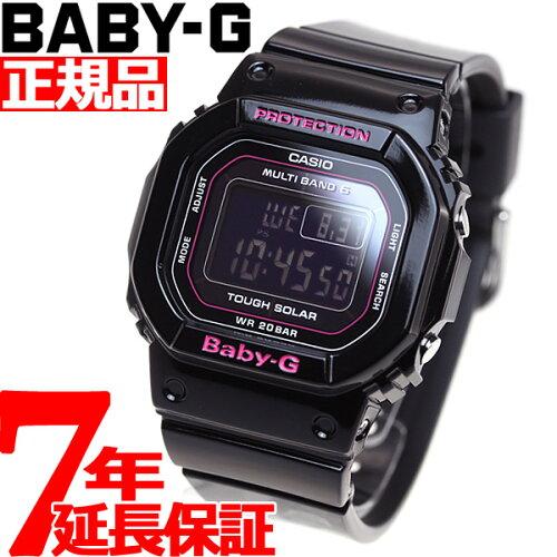 BABY-G カシオ ベビーG Tripper トリッパー 電波 ソーラー 電波時計 腕時計 レディース ブラック ...