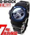 カシオ Gショック CASIO G-SHOCK 電波 ソーラー 電波時計 腕時計 メンズ アナデジ タフソーラー ブラック×ブルー AWG-M100BC-2AJF