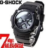 G-SHOCK 電波 ソーラー 電波時計 ブラック 腕時計 メンズ アナデジ タフソーラー AWG-M100SBB-1AJF【正規品】
