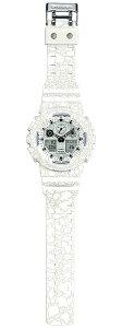 カシオGショックCASIOG-SHOCK限定モデル腕時計メンズクラックド・パターン白ホワイトアナデジGA-100CG-7AJF【2016新作】