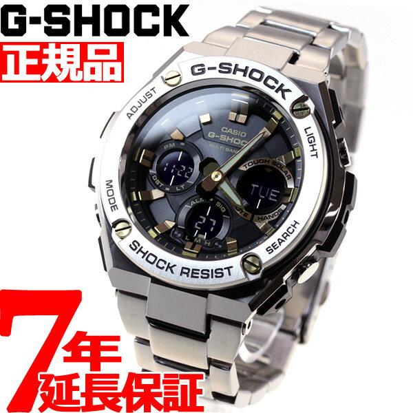 腕時計, メンズ腕時計 34G-SHOCK G-STEEL G G CASIO GST-W110D-1A9JF
