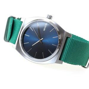 ニクソンNIXONタイムテラーTIMETELLER腕時計メンズ/レディースネイビー/グリーンNA045742-00【2016新作】【対応】【即納可】