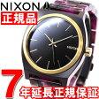 ニクソン NIXON タイムテラーアセテート TIME TELLER ACETATE 腕時計 レディース マルチ/ブラック/ゴールド NA3272484-00【2016 新作】